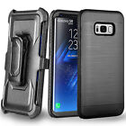 Heavy Duty Belt Clip Protective Case Cover for Samsung Galaxy S8 / S8 Plus