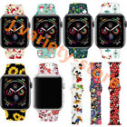 New Christmas Gift Silicone Strap Band for Apple Watch iWatch Series 5/4 40/44mm image