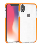 Iphone X Mesh Rubber Plastic Case