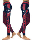 Houston Texans Leggings Small-XXL (0/2-14) Football Fan Gift Texas Horns Stripes $22.99 USD on eBay