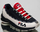Fila DSTR97 CB Men's White Navy Red Casual Lifestyle Sneakers Shoes 1010713-01C