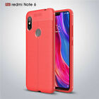 For Xiaomi Redmi Note 8 7 6 5 ProSoft Leather Classic Back Case Protective Cover