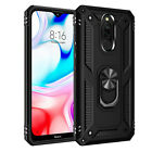 For Xiaomi Redmi Note 8 7 Pro 8A 7A Hybrid Armor Magnetic Ring Holder Case Cover