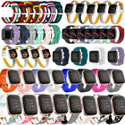 For Fitbit Versa2/Versa/Versa Lite Silicone Leather Nylon Strap Replacement Band image