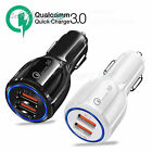 5V/3.1A Car USB Charger Quick Charge 3.0 Dual Fast Charging for Samsung S9