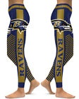 Baltimore Ravens Leggings Small-XXL (0-14) Football Fan Gift Game Gear Stripes $22.99 USD on eBay