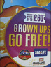 More images of Kelloggs Grown Ups Go Free CODE Alton Towers Chessington Legoland Thorpe Park Lo