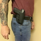 Holster OWB Belt Paddle KYDEX Waistband Springfield XDS 9/45 3.3 CT Laser Green
