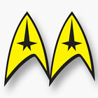 2x STAR TREK Logo Vinyl Sticker Decal Car Window Enterprise Series Original New on eBay