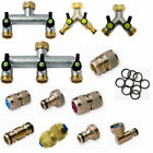 High Quality Brass garden Hose Fittings Connectors Tap Connectors Made in Italy
