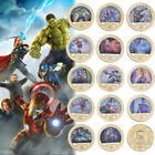 14pcs Marvel Avengers Infinity War Gold Commemorative Coin Gifts For Marvel Fans image