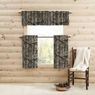RealTree Edge Camo Curtain Panels, Tiers, Sets of 2 And/Or Valance- Choice - NEW