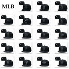 NEW Adjustable Snapback Hat Hip Hop Baseball Cap Hats Plain Flat Mens Hats BLACK on Ebay