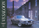 Aston Martin V8 Saloon Series 4 Vintage Showroom Advertising Picture Poster A1,3