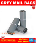 Strong Grey Mailing Post Mail Postal Bags 12X16