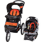 Mom Dad Baby Jogger Travel System Stroller Combo Set Car Seat Foldable Lockable