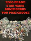 "AUTHENTIC LEGO BRAND STAR WARS CHARACTER MINIFIGURE ""YOU PICK/CHOOSE"" GENUINE $2.99 USD on eBay"