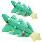 Christmas Xmas Tree with Star Decoration Hanging Ornament Pendant Plush Toy Gift