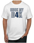 Dak Prescott T-Shirt - SUCK MY D4K Dallas Cowboys NFL Uniform Jersey #4 $19.99 USD on eBay