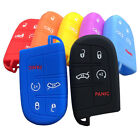 5 Buttons Remote Smart Key Fob Silicone Skin Case Cover Fit Chrysler Dodge Jeep $6.56 CAD on eBay
