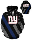 New York Giants Hoodie Lightweight Small-XXXL 2XL Unisex Men Women Football $26.99 USD on eBay