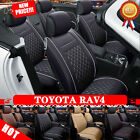5-seats Car Seat Covers Pad Chair Cushion Mat Durable PGS Fits Toyota RAV4 13-16 $200.0 USD on eBay
