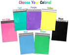 10, 20, 50 -100- 200 Pack 10x13 Colored Designer Approved Quality Poly Mailers