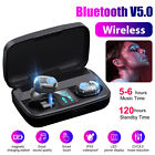 Bluetooth 5.0 Earbuds TWS Headphone Wireless Touch Bass Headset Noise Cancelling
