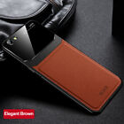 For OPPO R9 Plus R11 R15 R17 Luxury Leather Case Camera Protective Hybrid Cover