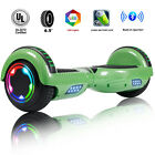 "6.5"" Bluetooth Hoverboard LED Self Balancing Electric Scooter Best Gift UL Bag"