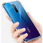 For OPPO Reno Ace 2Z A9 A5 2020 F9 F11 Pro Shockproof Clear Gel TPU Case Cover