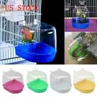 Kyпить Bird Water Bath Tub For Pet Bird Cage Hanging Bowl Parrots Parakeet Birdbath USA на еВаy.соm