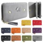 New Women's Tassel Dog Detail Faux Leather Cute Purse Wallet Christmas Gift