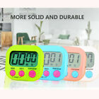 4Pcs LCD Digital Kitchen Timer Count Down Up Clock Egg Cooking Loud Alarm USA
