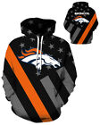 Denver Broncos Hoodie Lightweight Small-XXXL 2XL Unisex Men Women Football $26.99 USD on eBay