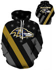 Baltimore Ravens Hoodie Lightweight Small-XXXL 2XL Unisex Men Women Football $26.99 USD on eBay
