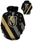 Vegas Golden Knights Hoodie Lightweight Small-XXXL 2XL Unisex Hockey Gift Las B $26.99 USD on eBay