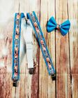 Miami Dolphins Suspenders and Bow Tie (or Hair Bow) $41.0 USD on eBay