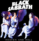Rare! Black Sabbath Heaven And Hell Black Unisex T-Shirt All Size S to 4XL P819 image