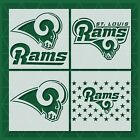 Los Angeles Rams stencil | Mylar (Plastic Sheet) | Reusable&Durable |  NFL $17.99 USD on eBay