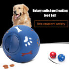 Dog Pet Puzzle Toy Tumbler Fun Tough-Treat Ball Mental Food Dispenser Feeder