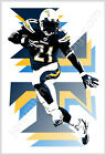 LA San Diego Chargers LaDainian Tomlinson - 13x19 Cool Football Sport Art Poster $11.99 USD on eBay