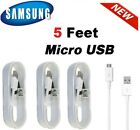 For Samsung Galaxy S6 S7 J7 EDGE Note 4 5 OEM Fast Wall Charger Micro USB Cable