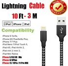 For iPhone 8 7 6 iPhone 11 X XR 8Pin USB Charger Cable Heavy Duty Charging Cord