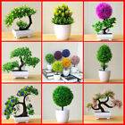 Artificial Plant Lotus Plant Potted Plastic Flower Table Top Ornaments Christmas