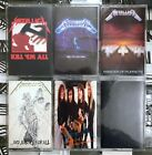 YOU PICK Cassette Lot Heavy Metal - Black Sabbath, Metallica, AC/DC + More!
