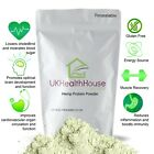 100% Pure Hemp Protein Powder - Huge 61.6% Protein - Organic Certified
