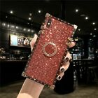 Mobile Phone Case Metal Stand Ring Luxury Design Cover Telephone Accessories