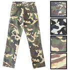 ACCESS Vintage Thin and Light Stone Washed CAMO PANTS AP13125