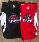 CCM Edge Rockford IceHogs Pro Stock Practice Jerseys Red / Black 7124